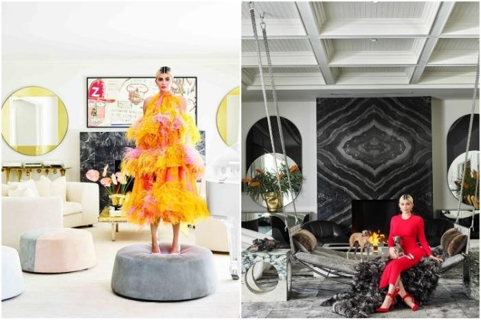 Самая юная миллиардерша мира показала интерьер своего первого «взрослого» дома (Кайли Дженнер). | Фото: cosmopolitan.com.