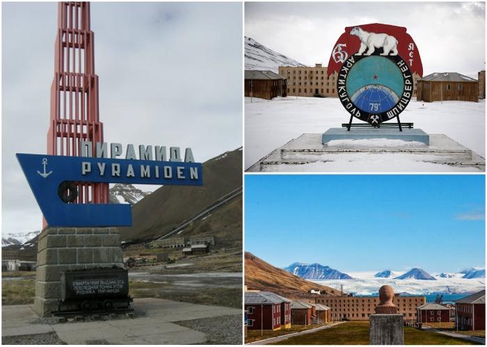 Российский шахтерский поселок Пирамида на архипелаге Шпицберген в Норвегии был законсервирован в 1998 году.
