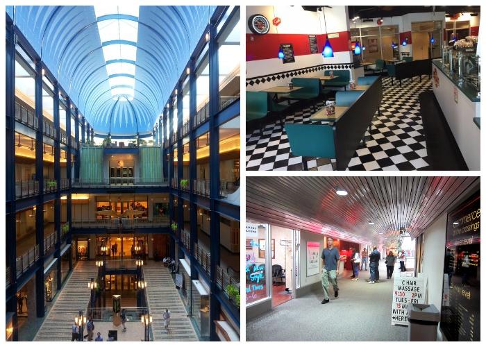 Система выступает как торгово-развлекательный центр под стеклянным куполом (Minneapolis Skyway System). | Фото: tripadvisor.ru.