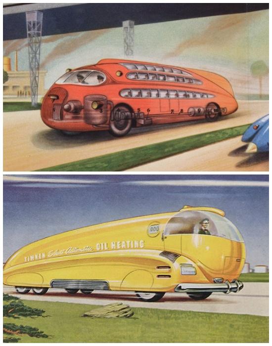 Такие скоростные и комфортные автобусы уже давно стали реальностью.