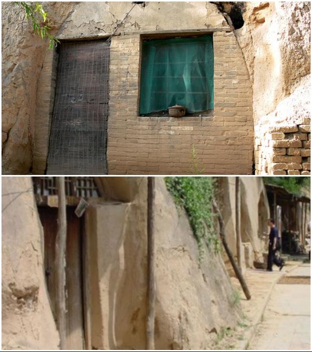 Там, где живет беднота, в доме нет даже полноценных дверей и окон (Китай). | Фото: cameralabs.org.