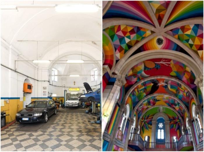 Старинные церкви теперь выполняют самые неожиданные функции. | Фото: varlamov.ru.