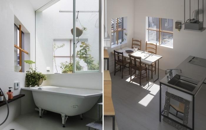 Единственные зоны, которые перенести не удастся – это кухня и ванная комната. | Фото: resources.realestate.co.jp.