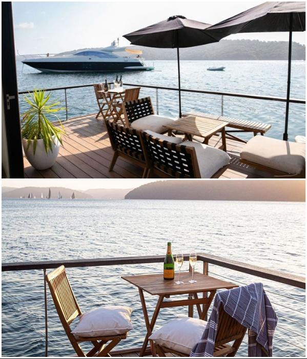 На открытой террасе-палубе можно наслаждаться и прекрасными видами, и свежим воздухом («LilyPad Palm Beach Villa», Австралия).   Фото: boredpanda.com/ © Ian Davidson.