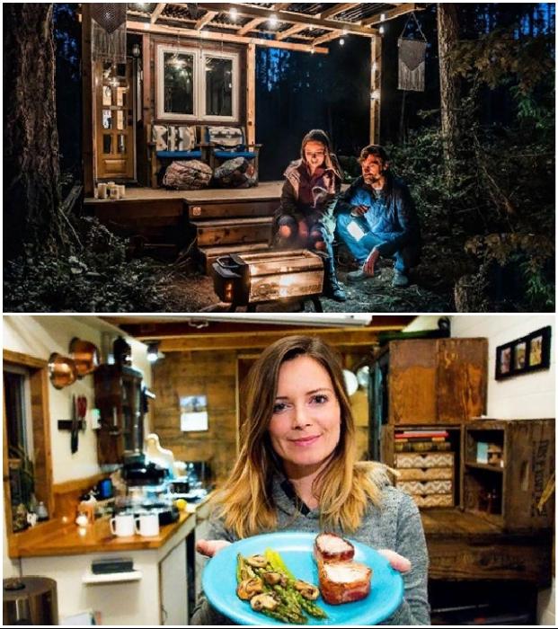 В крошечных домах могут счастливо жить те, кто радуется любым мелочам (Tiny House Giant).
