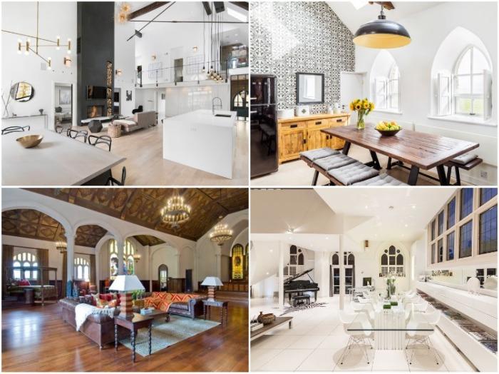 Переделанные церковные сооружения разбросаны по всему миру, и дизайнеры и архитекторы демонстрируют свое творчество, чтобы идеально преобразовать пространство.