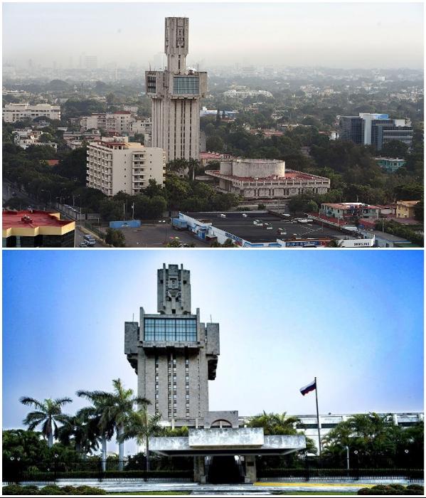 Здание Посольства России является самым высоким сооружением в Гаване (Куба). | Фото: wikimapia.org/ de.sputniknews.com.