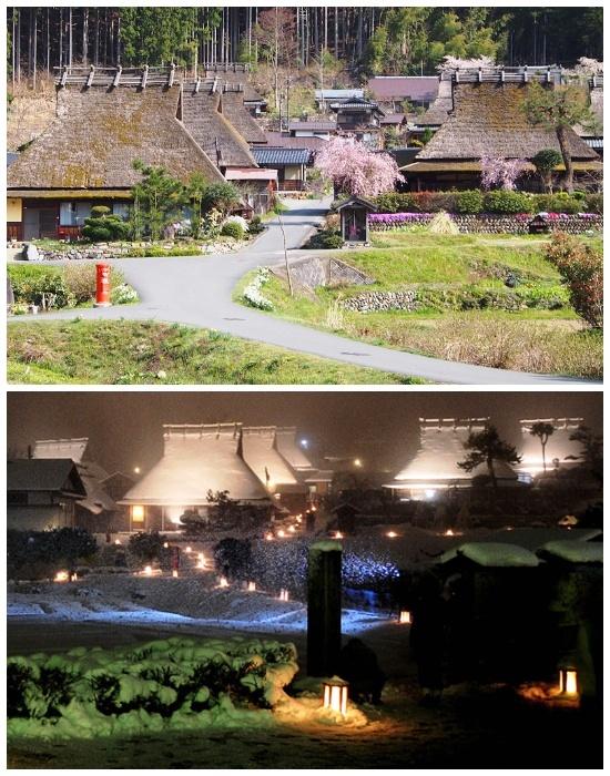 В деревне Каябуки-но Cато до сих пор живут люди (Япония).| Фото:  kyotomiyama.jp.