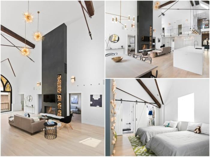 Благодаря разделению вертикальной площади удалось создать уютный жилой дом с открытой планировкой (Чикаго, США). | Фото: vagrantpress.dev.