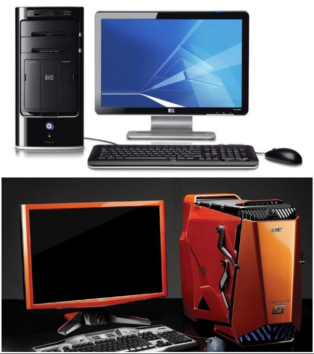 Включенный в розетку компьютер также способен «съедать» электричество.