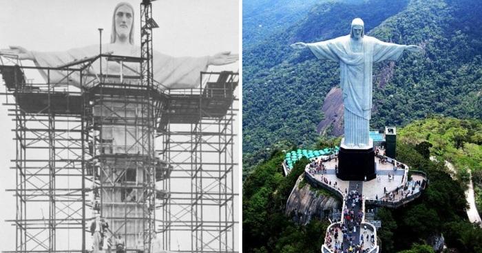 Возможно, одной из самых известных статуй мира будут восхищаться наши потомки через сотни лет (Статуя Христа Искупителя в Рио-де-Жанейро).