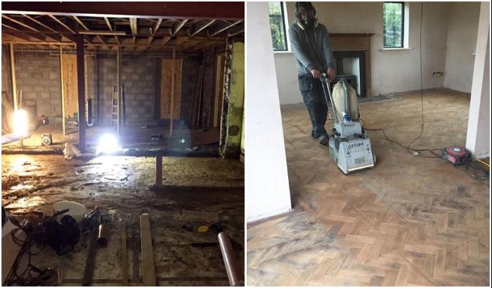Из-за недобросовестных подрядчиков большую часть работы пришлось выполнять самостоятельно. © Michaela | The old piggery.