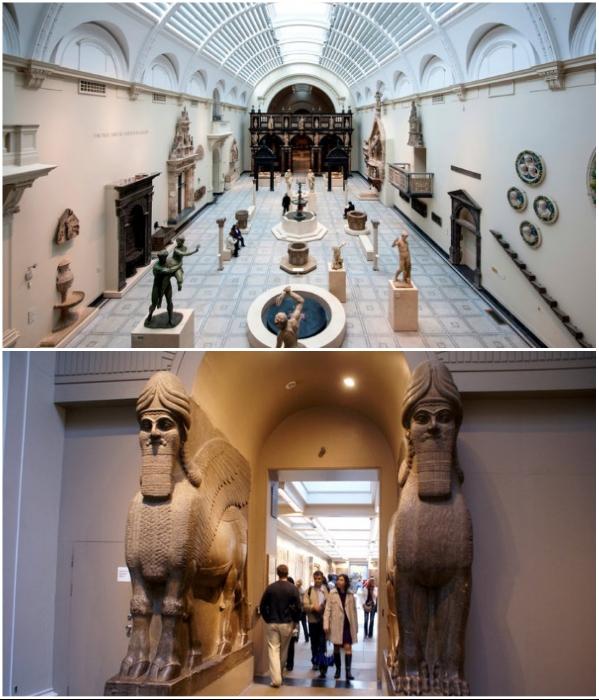Британский историко-археологический музей открыл виртуальный доступ к более чем 3,5 млн. оцифрованных экспонатам, хранящихся в запасниках (Лондон, Великобритания). | Фото: touristam.com/ tournavigator.pro.