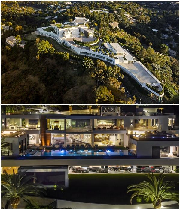 Особняк «The One» в престижном районе Bel Air пытаются продать за 500 млн дол. (Лос-Анджелес, США). | Фото: housebeautiful.com/ cambodiaproperty.info.