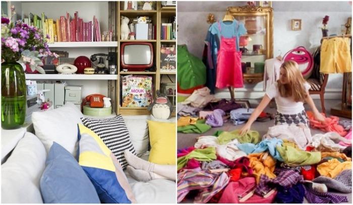 Перед тем, как приступать к изменению интерьера маленькой комнаты, нужно избавиться от ненужных вещей. ¦ Фото: archimir.ru