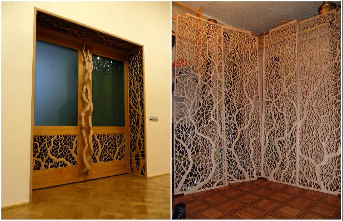 Резные накладки, украшающие радиаторы, двери, перегородки и зеркала. | Фото: pikabu.ru/ artbench.livejournal.com.