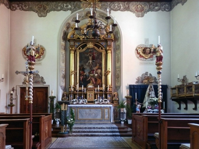Интерьер храма Святого Маркуса (Markuskirche).