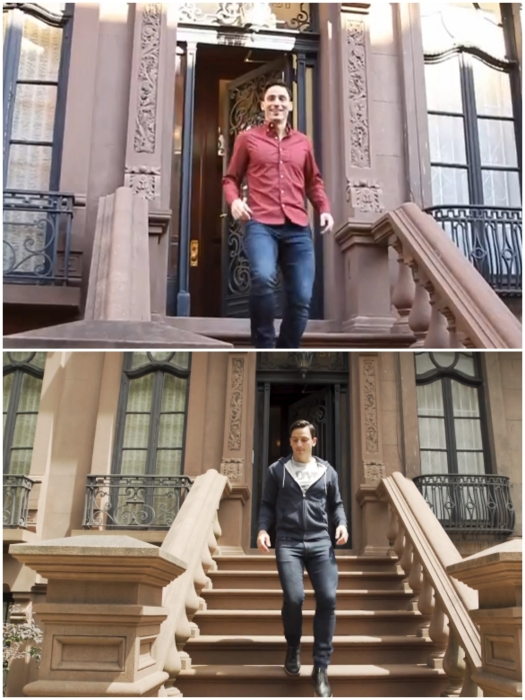 В одном из переделанных под мини-жилье особняке удалось снять квартиру-студию площадью 14 кв. м. и Энтони Триоло (Верхний Вест-Сайд, Манхэттен). | Фото: instagram.com/ © anthony_triolo.