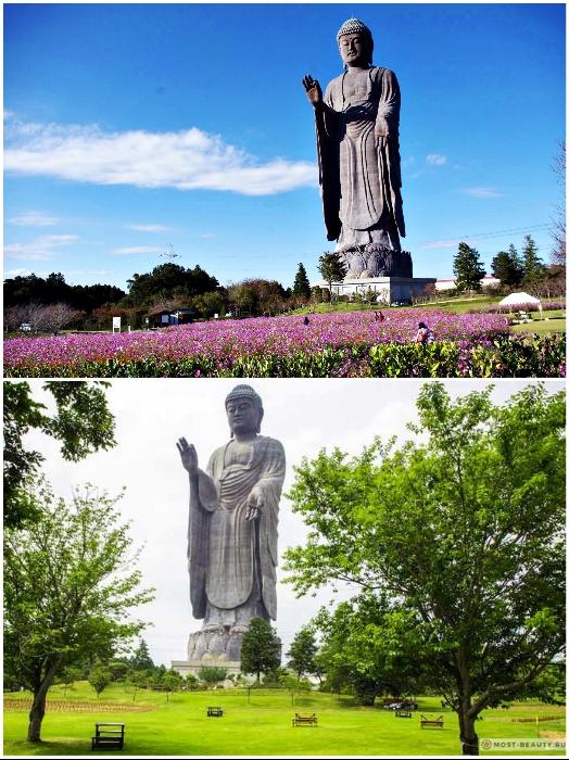 Вокруг статуи Будды Усику Дайбуцу создан уникальный парк, где можно просто прогуляться. | Фото: orangesmile.com/ bigpicture.ru.
