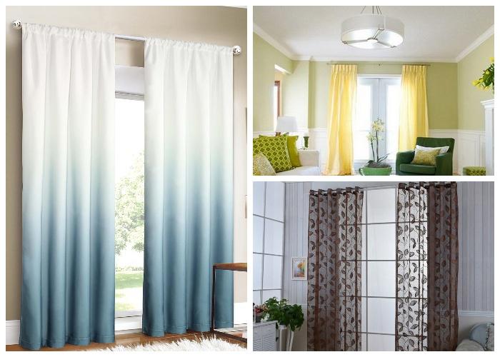 Чем тоньше штора и нежней рисунок, тем больше воздуха и пространства в маленькой комнате.