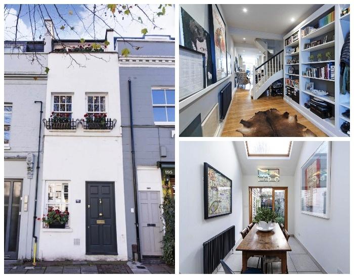 Удивительный дом Slim House расположен в районе Баттерси в старинной части Лондона. elmira-abdulman. | Фото: livejournal.com.