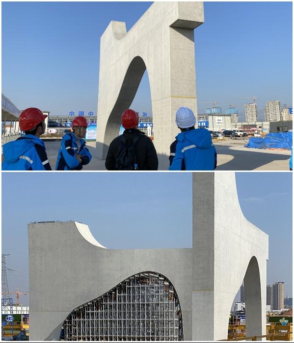 Строительство спортивного городка продолжается, несмотря ни на что («Quzhou Sports Park»). | Фото: worldarchitecture.org/ © MAD Architects.
