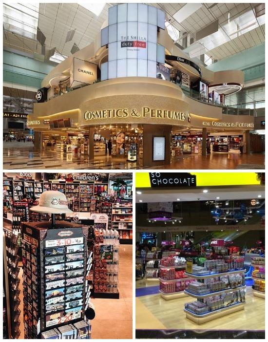 Для любителей шопинга есть где разгуляться (Changi Airport, Сингапур).