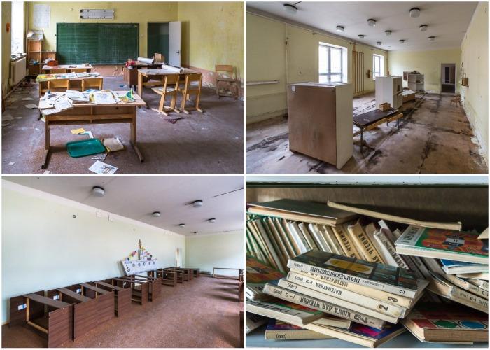 Поселковая школа спустя два десятилетия (Пирамида, Архипелаг Шпицберген).