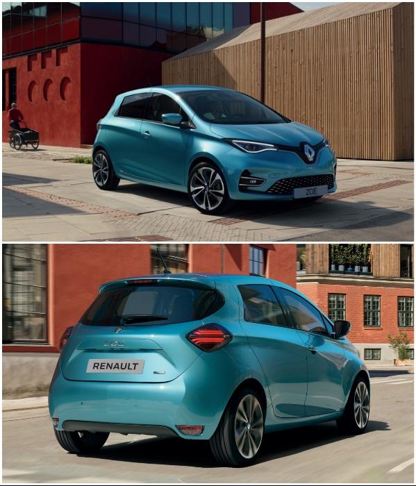 Новенький электрокар Renault Zoe можно взять по договору лизинга с нулевым первоначальным взносом. | Фото: autocentre.ua.