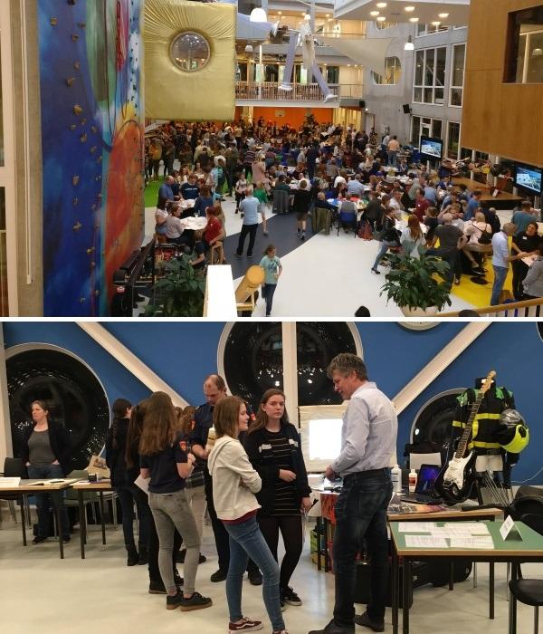 В школе часто проводят встречи с родителями, которые активно обсуждают с детьми интересующие их теми (Agora College, Нидерланды).| Фото:  twitter.com.