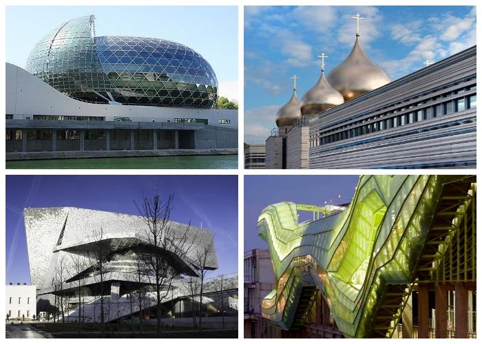 Современный Париж становится столицей невероятных постмодернистских архитектурных творений.