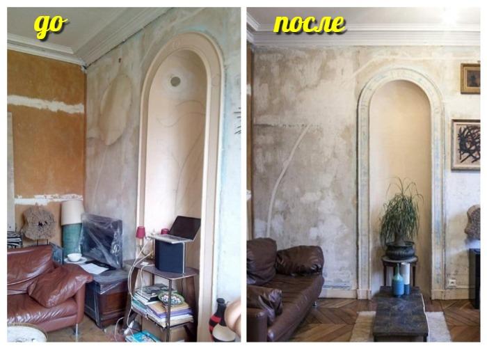 Трансформация гостиной в маленькой квартире.