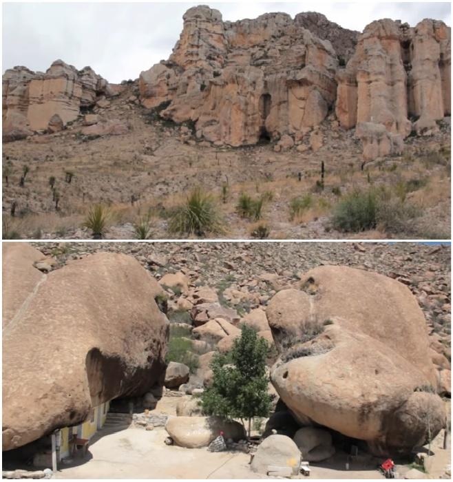 Многие годы эти скалы привлекали Бенито, в особенности огромные валуны у их подножия (заповедник Ocampo, Мексика). © VANGUARDIA MX.