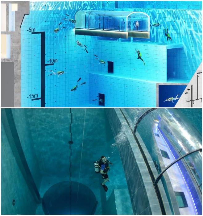 Спортсмен любого уровня подготовки сможет выбрать оптимальную глубину («Deepspot», Мщонов). | Фото: oceans5magazine.com/ all4women.co.za.