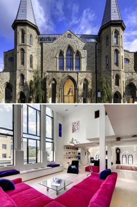Величественную готическую церковь превратили в современное жилье (Великобритания). | Фото: telegraf.com.ua.