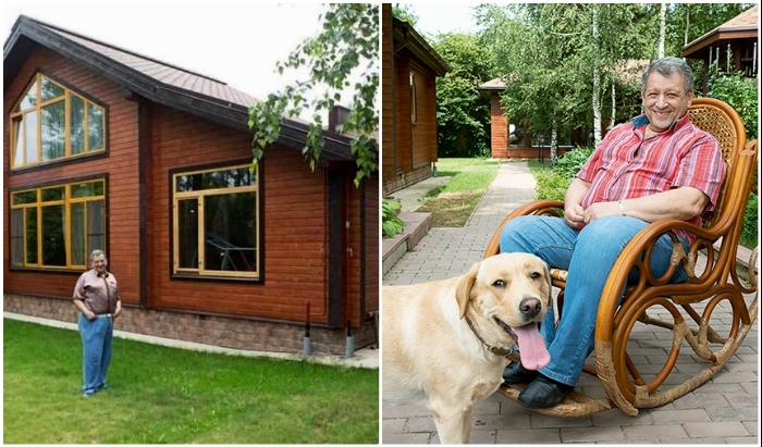 Загородный дом создателя «Ералаша» Бориса Грачевского: умиротворенная жизнь на природе
