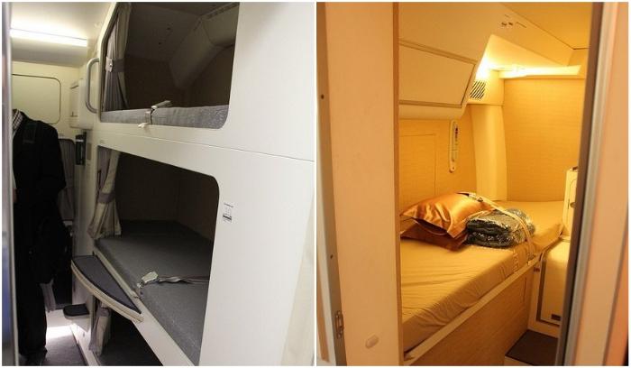 Boeing 773 American Airlines оборудован двухъярусными кроватями вдоль прохода, который больше напоминают круизное судно. | Фото: infor-semestern.newsner.com.