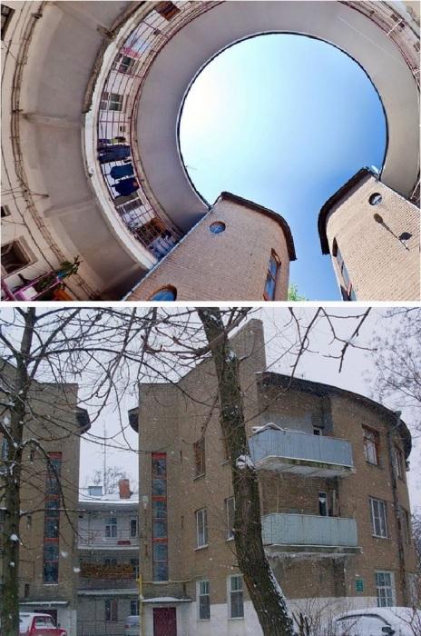 Круглый дом Таганрога – особенный памятник советскому конструктивизму.