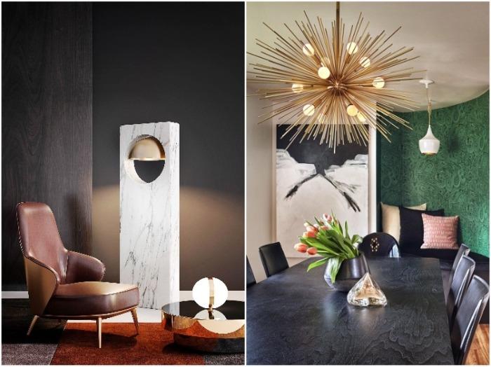 Светильники не просто выполняют свою функцию, они являются настоящим произведением искусства. | Фото: design-guru.moscow.