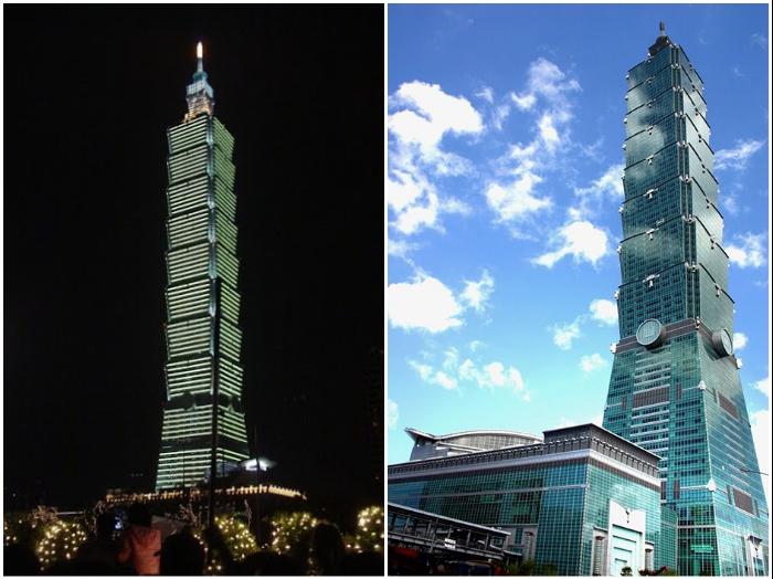 Башня Тайбэй 101 в Тайване является одним из самых знаковых сооружений планеты. | Фото: blogspot.com/ genby.livejournal.com.