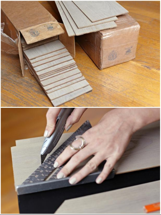 Для правильной стыковки панелей нужно сделать идеальный срез. | Фото: cpykami.ru.