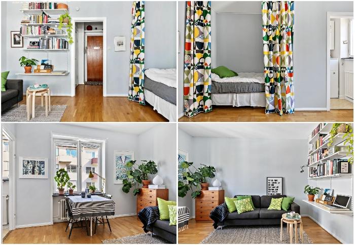 Как в Стокгольме живут в малогабаритных квартирах площадью 24 кв. м. | Фото: lemurov.net/ hitta.se.