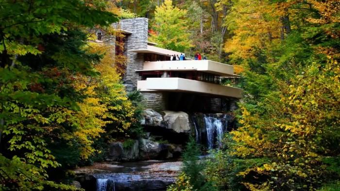 Fallingwater – в 1969 г. получил статус Национального исторического памятника США. | Фото: project-natasha.blogspot.com.
