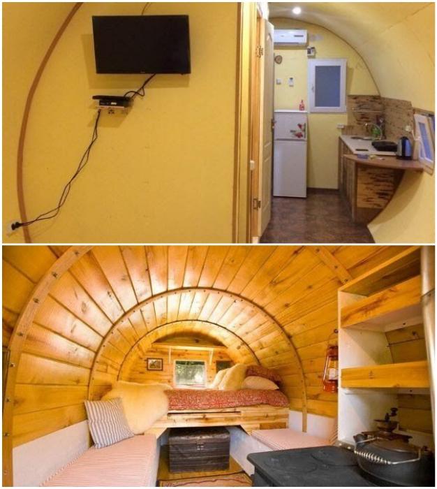 Современные интерьеры любителей домашнего уюта.