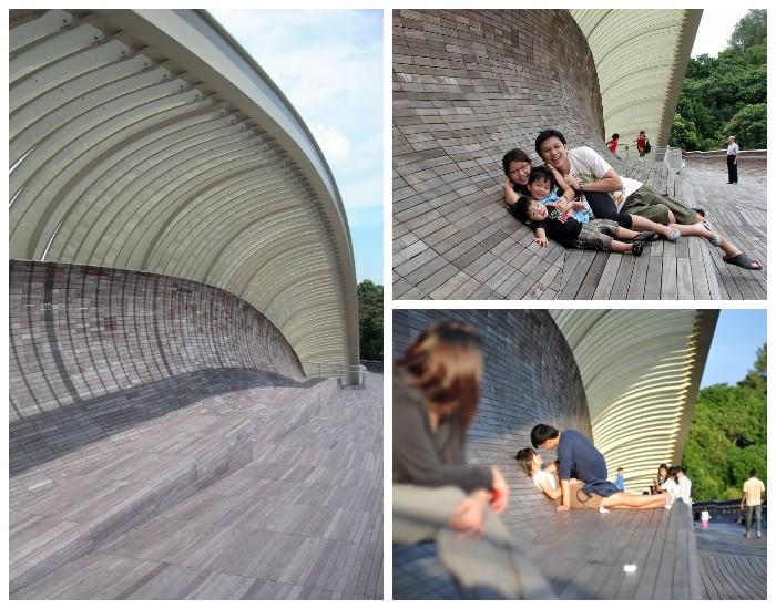 Самое излюбленное место горожан и гостей столицы (Пешеходный мост «Волны Хендерсона», Сингапур).