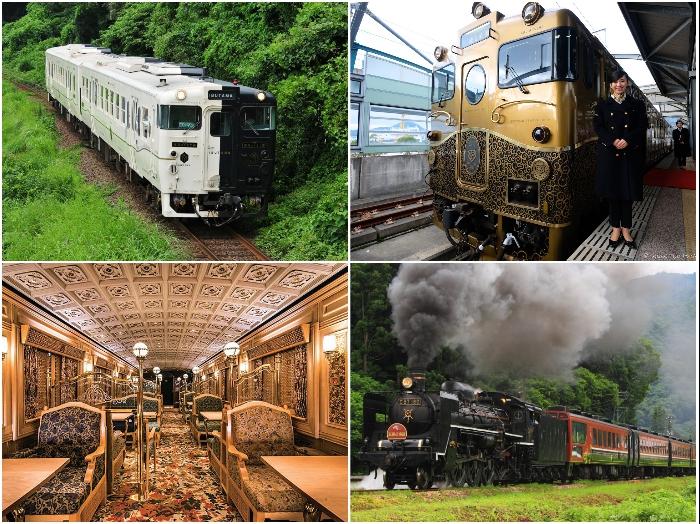 В Японии большим спросом пользуются железнодорожные экскурсионные туры, билеты на которые нужно приобретать заблаговременно.