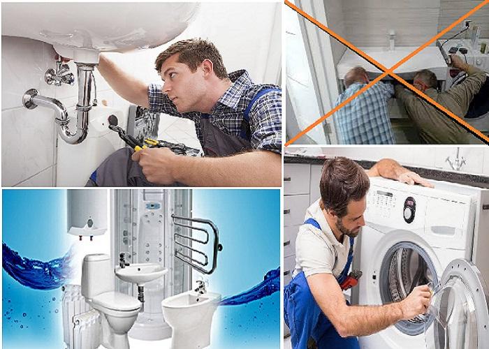 Для установки сантехники и электроприборов лучше пригласить специалистов.