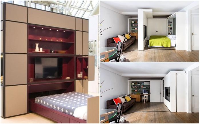 Мебель-трансформер и модульные комнаты помогут сэкономить пространство, не потеряв в комфорте.