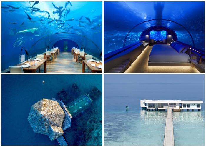 Подводные сооружения, которые создал архитектор Ахмед Салим.