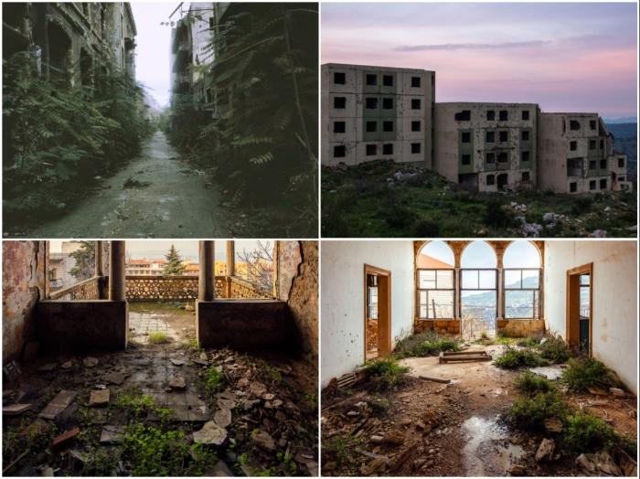 Районы боевых действий Ливана теперь превратились в «зеленую» зону (фотопроект «A Paradise Lost»).   Фото: jameskerwin.uk/ © James Kerwin.